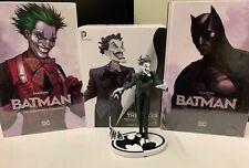 Batman Black and White Joker Jim Lee 2nd Ed Statue Robin Justice Harley Quinn