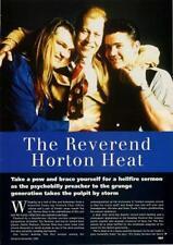 Reverend Horton Heat UK 'Guitarist' Interview Clipping
