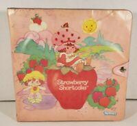 Vintage Strawberry Shortcake Storybook Strawberryland Miniature Display Case