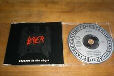 Slayer - Seasons In The Abyss Rare Maxi CD
