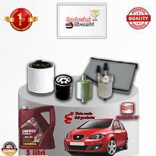 Mantenimiento Filtros + Aceite Seat Altea 1.6 Dual 75KW 102CV De 2011- >