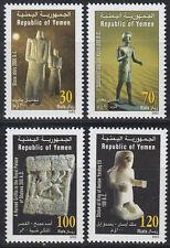 Yemen Republic 2002 ** Mi.246/49 Archäologie Kunst Art Archaeology