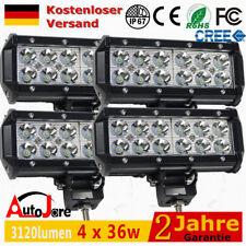 4 x36W Deck Led Arbeitsscheinwerfer Traktor Scheinwerfer Auto 12V Leuchten 48w
