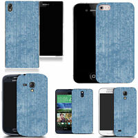 art case cover for All popular Mobile Phones - blue profficient silicone.