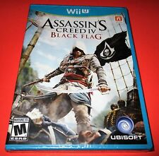 Assassin's Creed IV: Black Flag Nintendo Wii U *Factory Sealed! *Free Shipping!