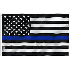 Anley Fly Breeze 3x5 Foot Thin Blue Line Usa Flag Law Enforcement Officers Flags