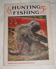 7/1931 Hunting & Fishing Magazine