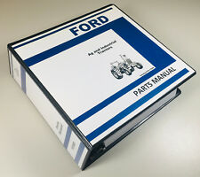 FORD 420 535 INDUSTRIAL TRACTOR PARTS MANUAL CATALOG