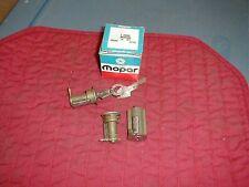 NOS MOPAR 1969 IGNITION & DOOR LOCK SET ALL MODELS