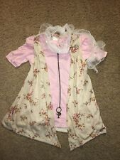 Girls' Bongo Shor SleeveShirt With Floral Vest Scarf / Necklace Size XL Slim Fit