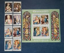 Antigua Stamps, Scott 394-401a Complete Set MNH