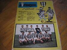 SQUADRA UDINESE CALCIO 1959/60 SU COPERTINA IL VITTORIOSO N.16 1960