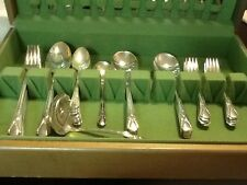 Avalon Silverplate Set Of 64 ? 1940 Vintage Amazing Quality Retro With Box