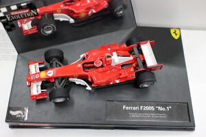 CARRERA EVOLUTION 1:32 Scale Plastic Slot Car Ferrara F2005 Formula 1 Racing