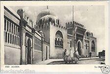 Alger La Medersa Ecole Superieure Arab  Algiers Old Unposted Postcard