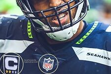 NFL 2017 SEASON SEATTLE SAEHAWKS' Bobby Wagner JERSEY 2-⭐CAPTAIN 2-PATCH SET