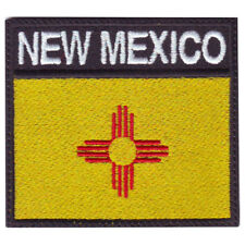 New Mexico Flag Badge Embroidered Patch