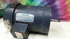 LEESON MOTOR, M# C143T34FC7B, CAT# 8185208, 3450 RPM, 230/460V, 1.5HP,