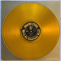 GRAND FUNK WE'RE AN AMERICAN BAND LP CAPITOL USA 1973 GOLD YELLOW VINYL