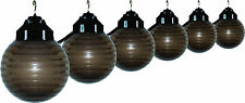 Awning Lights, Deck, RV, Porch, Backyard String Lights, Polymer Globe, 10 lights