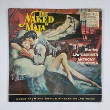 THE NAKED MAJA Original Soundtrack Eva Gardner UAS5031 LP Vinyl VG near+ Cvr VG