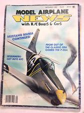 Model Airplane News Magazine Mustang Mania September 1982 041517nonrh