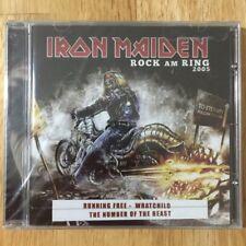 CD   ..  IRON MAIDEN  ..   ROCK AM RING 2005