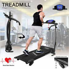 TREADMILL Incline Electric Motorise Folding Running Machine Fitness Exercise HY