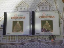 25 All Time Christmas Favorites Vol 1 & 2 Disc Only NO Jewel Cases