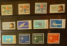Portugal Aircraft & Aviation Stamps Lot of 12 - MNH - See Details for List