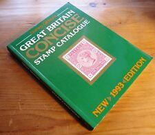 Stanley Gibbons 1993 Gran Bretaña Conciso Catálogo De Sellos