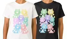 Rainbow cats T-shirt, whimsical cute cats in rainbow colours kids unisex tees.