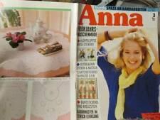 Anna Burda March/Marz 1991 German Text Handarbeiten Magazine-Knitting/Toys/Cross