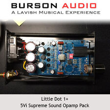 Little Dot I+ Hybrid Vacuum Tube Headphone Amp Burson V5i Opamp Upgrade set