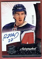 2010-11 THE CUP RYAN McDONAGH ROOKIE PATCH AUTO 3 CLS RC #043/249 UD 10-11 RPA