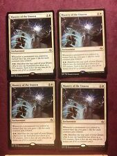 X4  Mastery of the Unseen  Mtg  Magic  (see scan)