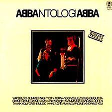 """LP - ABBA - ANTOLOGIA (SUPER RARE """"PROMO"""" SPANISH RE-PRESS 1982 HITS COMPIL) VG+"""