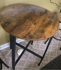 Tall Bar Table In Kitchen Dining Tables For Sale Ebay