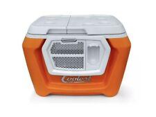 *Coolest Cooler* Essential Orange Color + Bluetooth Speaker No Blender