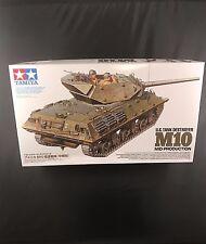 Tamiya US Tank Destroyer M10 Mid Production 1/35 model kit new 35350