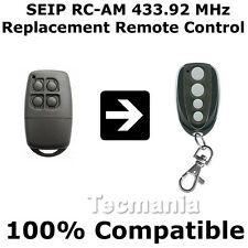 SEIP RC-AM RCAM Replacement Remote Control Transmitter Gate Key Fob 433.92 MHz