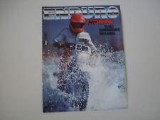advertising Pubblicità 1986 MOTO MORINI CAMEL 501 ENDURO