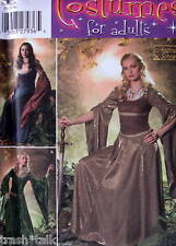 Andrea Schewe Costume Medieval Dress sz 20 22 24 26 pattern Reenactment