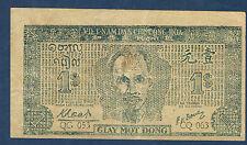 VIETNAM - 1 DONG Pick n° 9a. de 1947. en TTB   QG 053 CQ 063