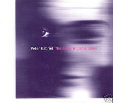 Peter Gabriel - The Barry Williams Show  UK PROMO CD Single in Cardsleeve (2002)
