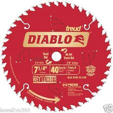 Freud D0740A Diablo 7-1/4 40 Tooth Finishing Saw Blade NEW