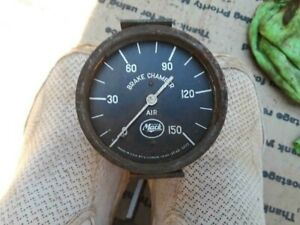 Original Mack Truck Brake Air Pressure Gauge