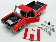 1965 Drag Outlaws Chevrolet El Camino Red/White Stripes ACME PRE-ORDER LE MIB