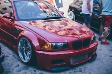 BMW E46 M3 FRONT BUMPER SPLITTERS BY MUSK CUSTOMS