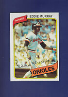 Eddie Murray HOF 1980 TOPPS Baseball #160 (NM) Baltimore Orioles